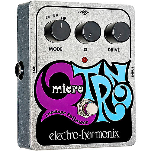 Open Box Electro-Harmonix XO Micro Q-Tron Envelope Filter Guitar Effects Pedal