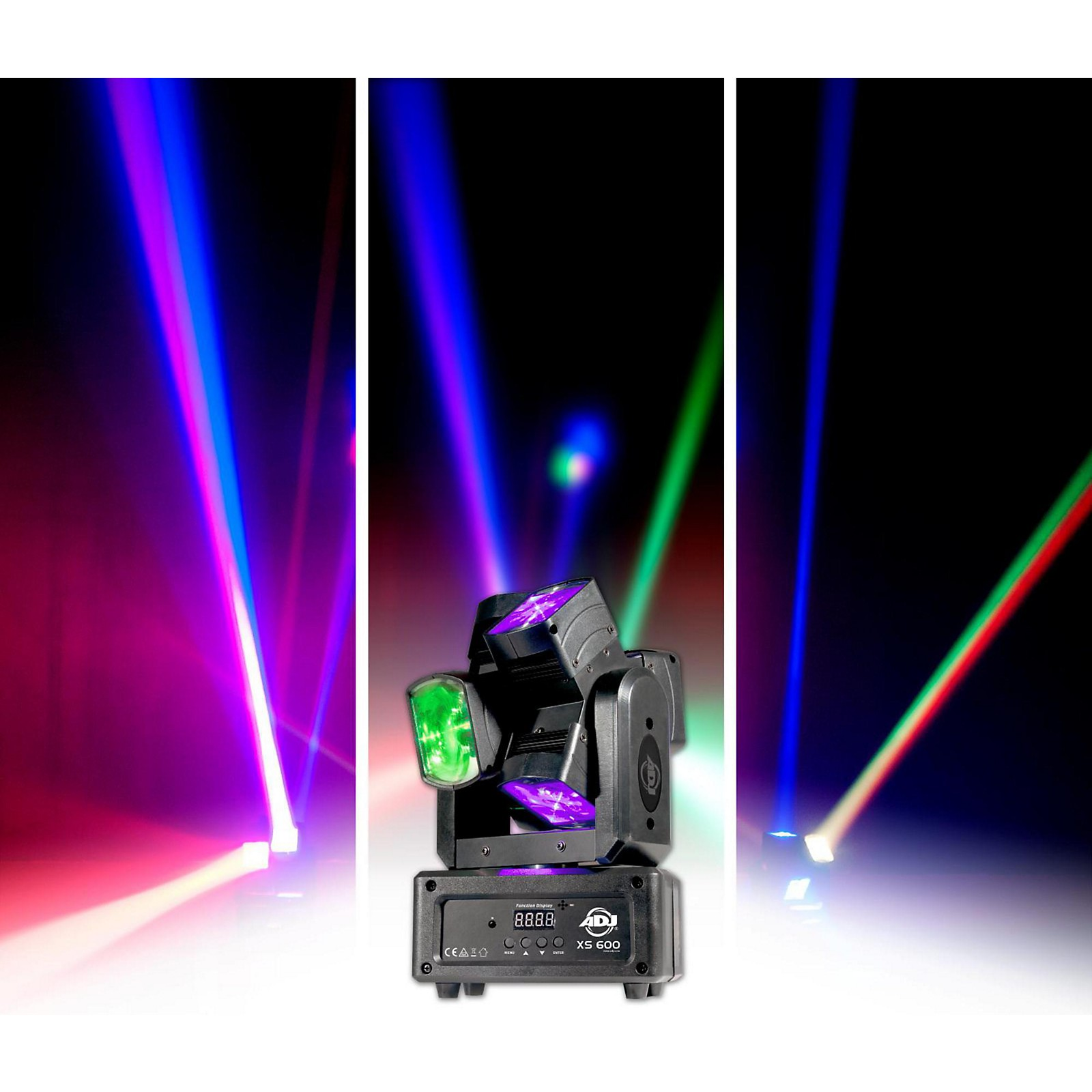 Open Box American DJ XS-600 Dual Moving Head LED Fixture