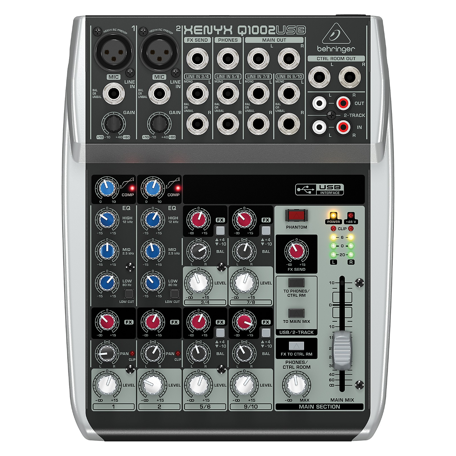 Open Box Behringer Xenyx Q1002USB Mixer