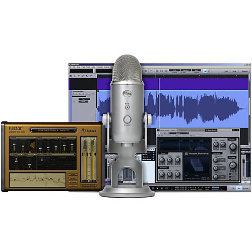 Open Box BLUE Yeti Studio USB/iOS Microphone - with $100 in Software