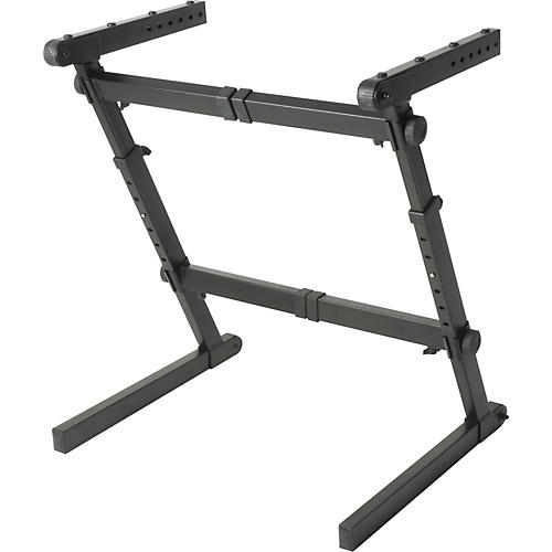 Open Box Quik-Lok Z-70 Width and Height Adjustable Z Keyboard Stand