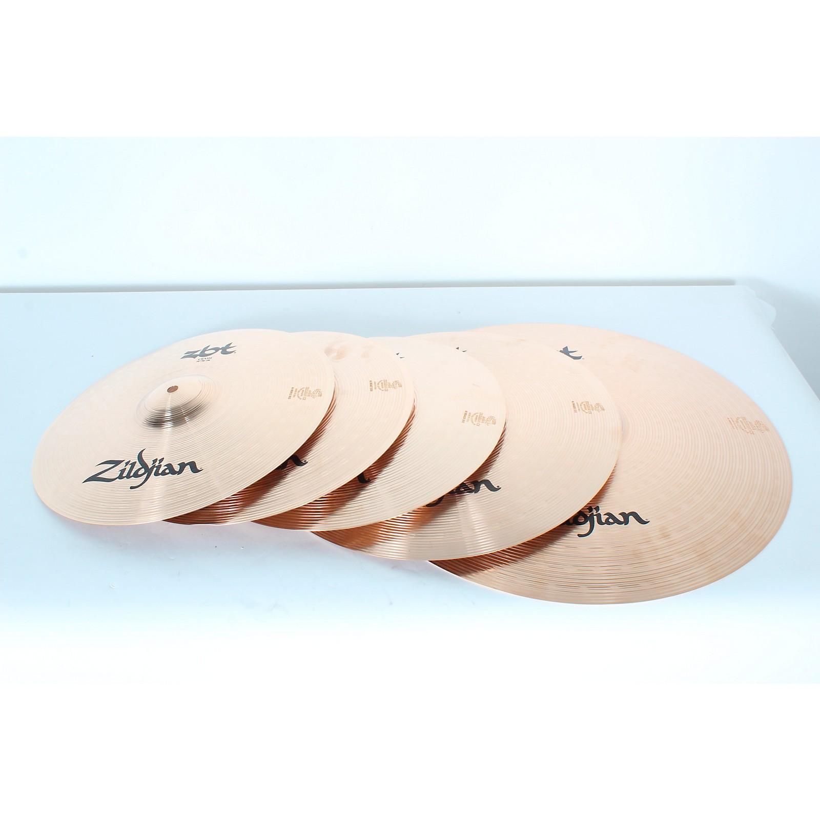 Open Box Zildjian ZBT Pro Cymbal Set with Free 14