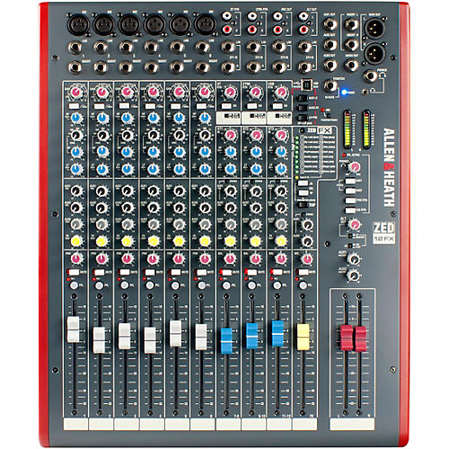 Open Box Allen & Heath ZED-12FX USB Mixer with Effects