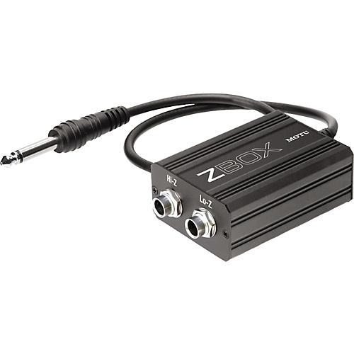 Open Box MOTU Zbox Guitar Impedence Adapter