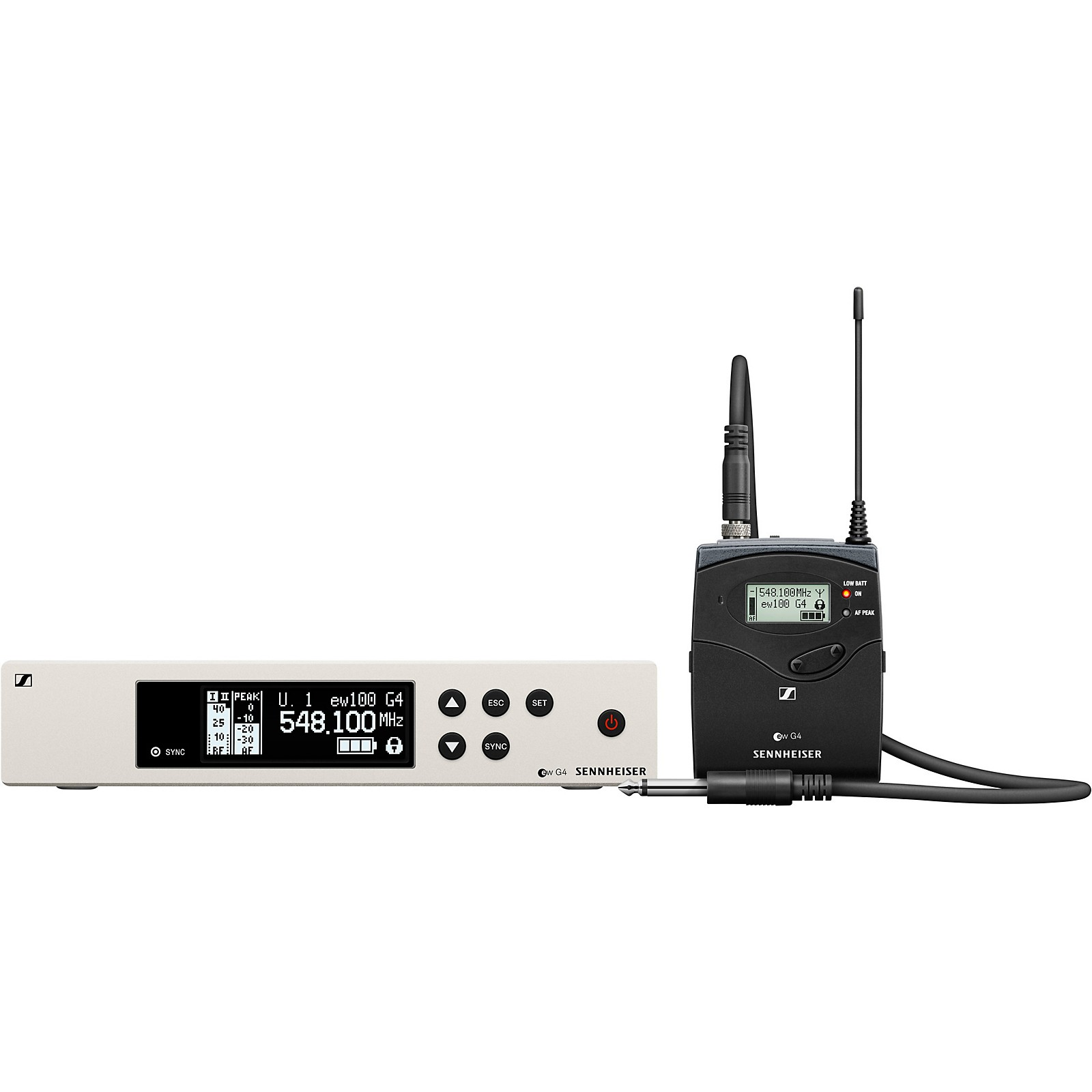 Open Box Sennheiser ew 100 G4 Instrument Wireless System with Ci1 Instrument Cable