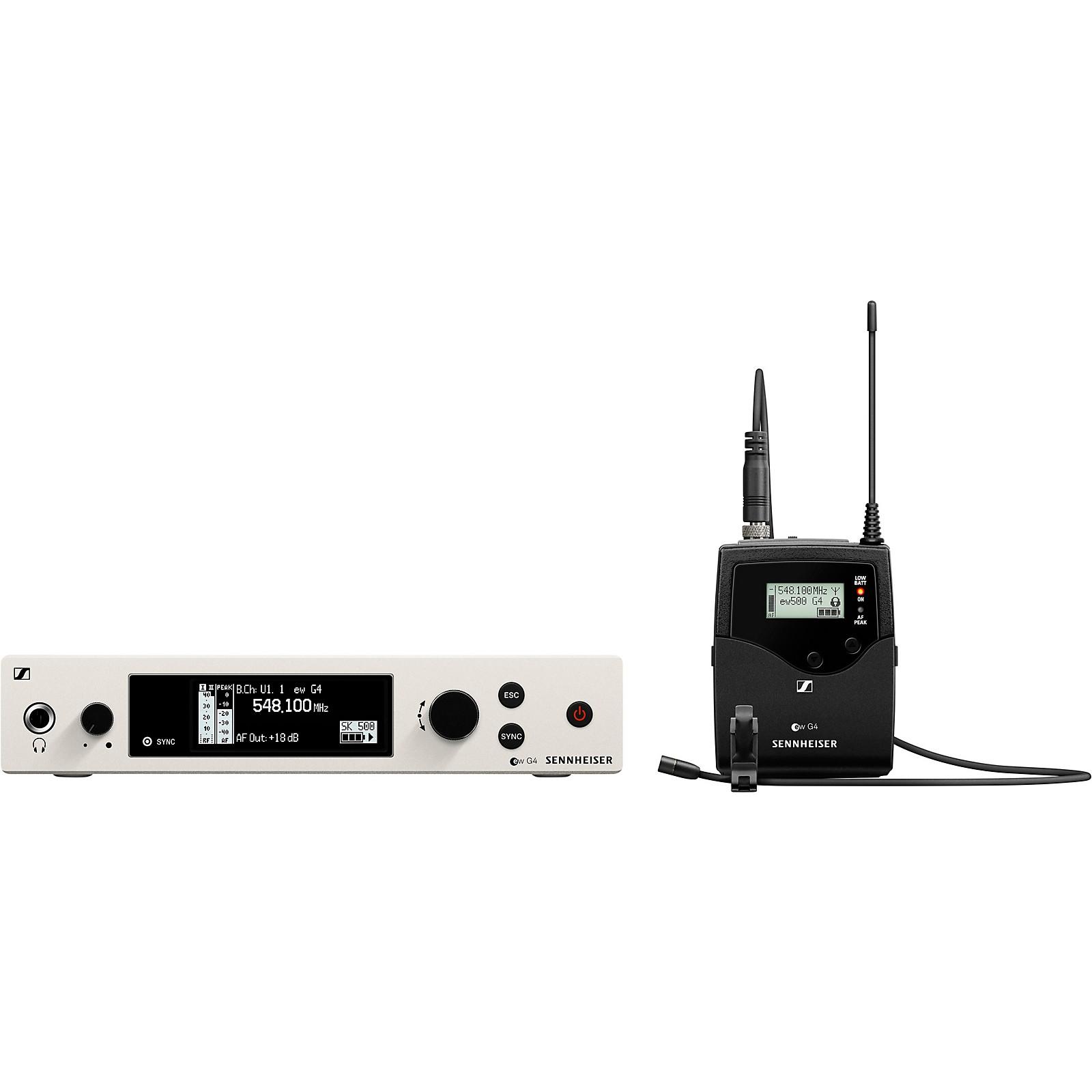 Open Box Sennheiser ew 500 G4-MKE2 Lavalier Wireless System