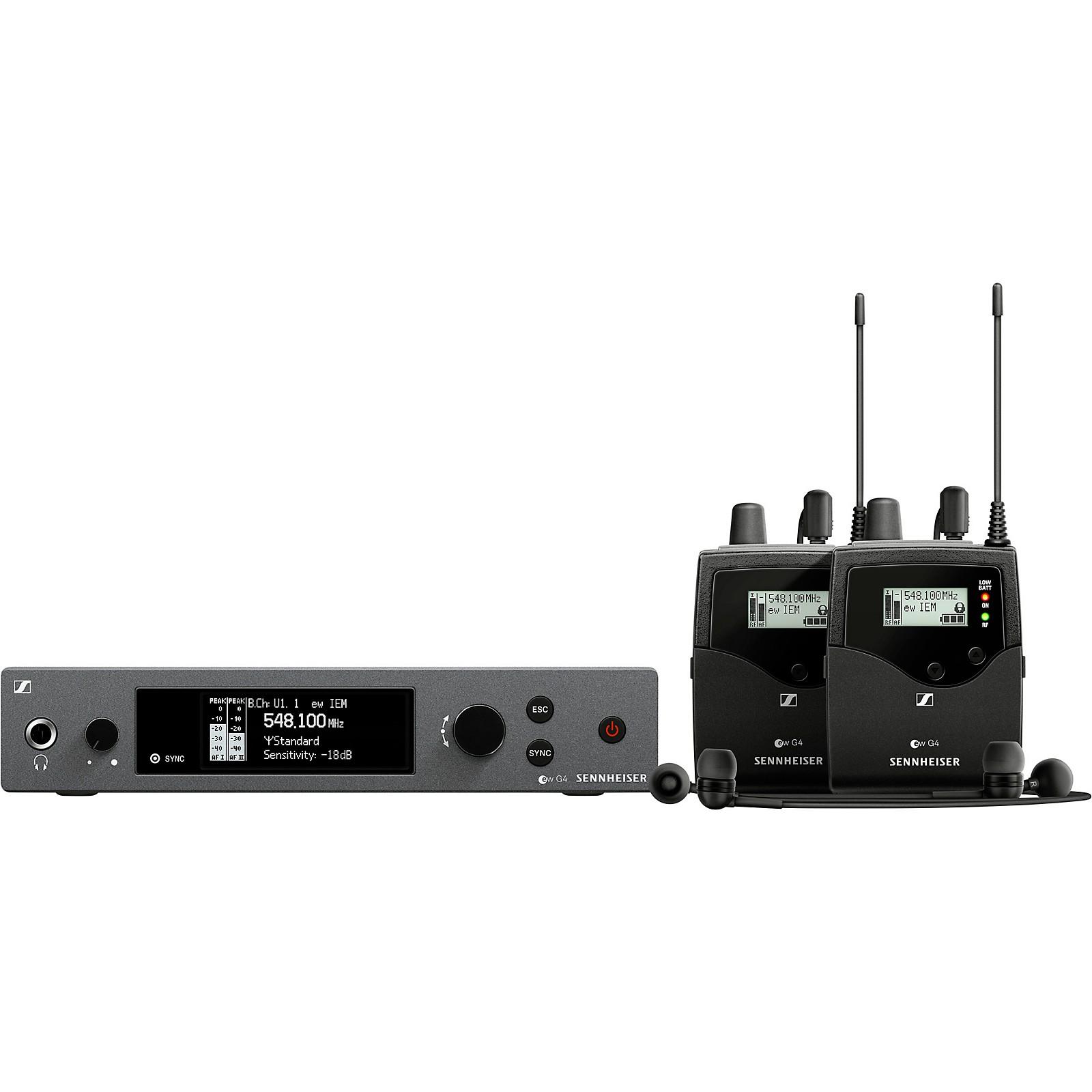 Open Box Sennheiser ew IEM G4-TWIN Wireless Stereo In-Ear Monitoring Set