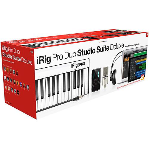 Open Box IK Multimedia iRig Pro Duo Studio Suite Deluxe