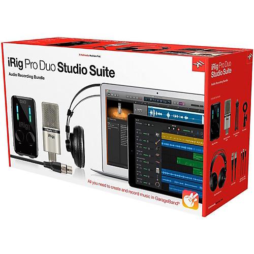 Open Box IK Multimedia iRig Pro Duo Studio Suite