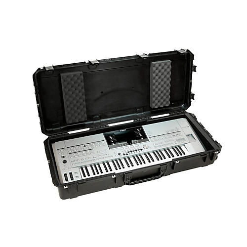 Open Box SKB iSeries Watertight 61 Note Keyboard Case w/Wheels