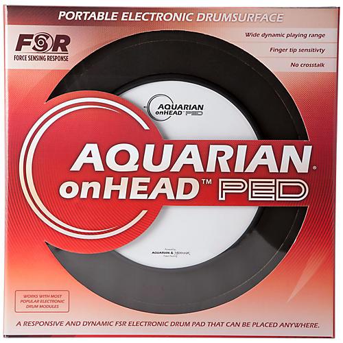 Open Box Aquarian onHEAD Portable Electronic Drumsurface Bundle Pak