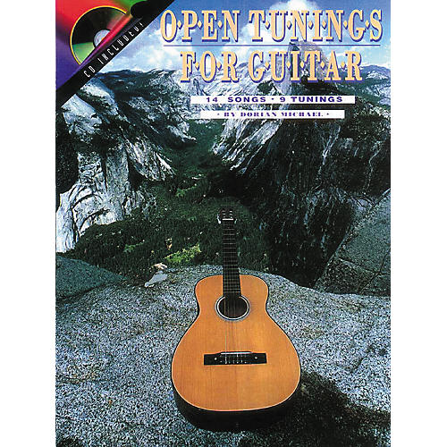 Centerstream Publishing Open Tunings for Solo Guitar (Book/CD)