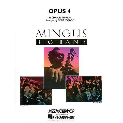 Hal Leonard Opus 4 Jazz Band Level 5 Arranged by Boris Kozlov
