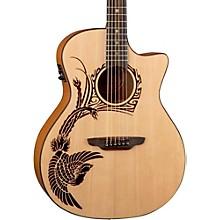 Luna Guitars Oracle Phoenix 2 Acoustic-Electric Guitar
