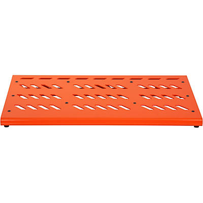 Gator Orange Aluminum Pedalboard XL with Carry Bag