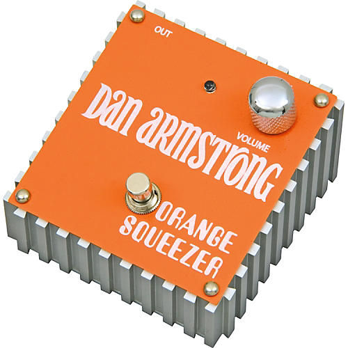 Dan Armstrong Orange Squeezer Compressor Guitar Effects Pedal