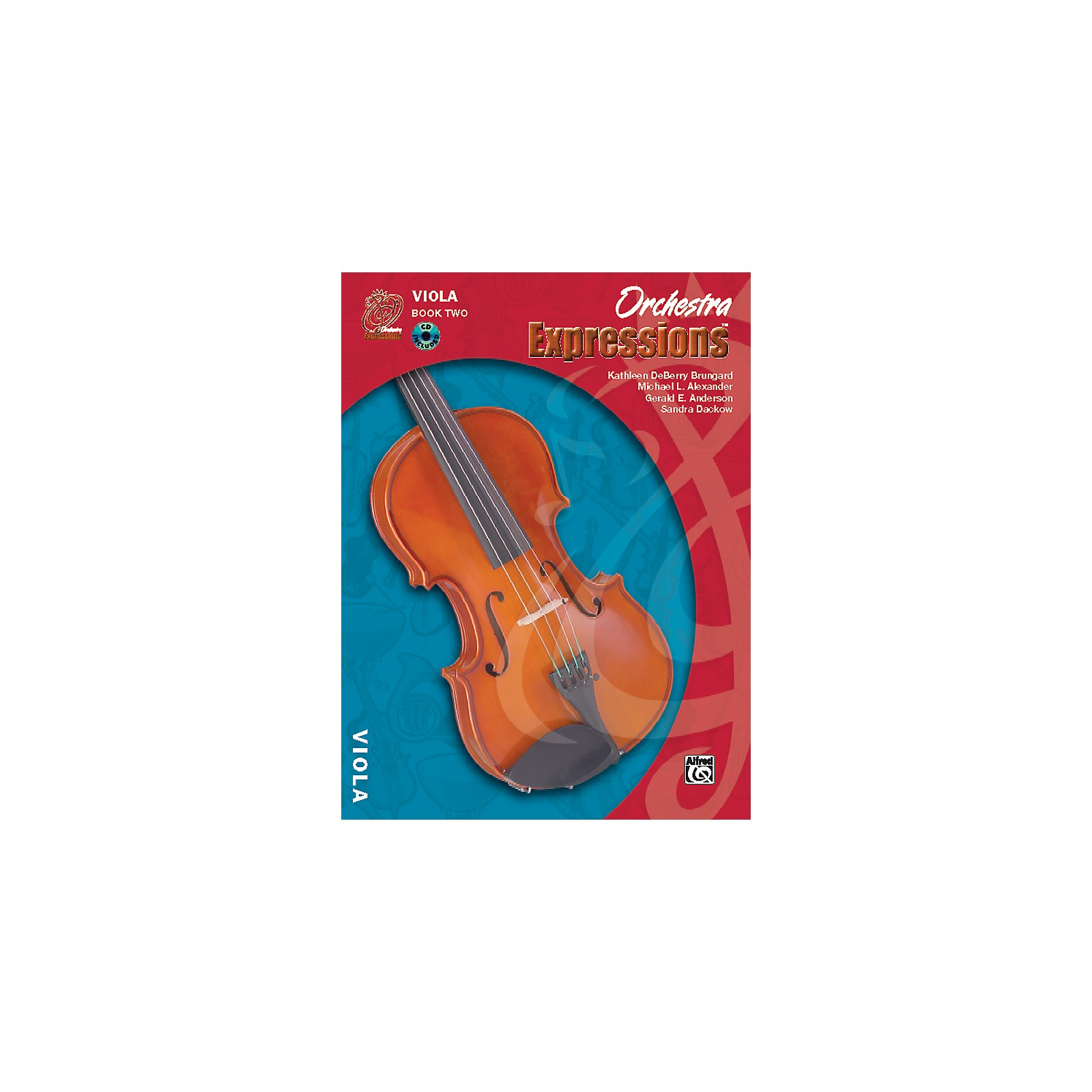 Alfred Orchestra Expressions Book Two Student Edition Viola Book & CD 1