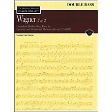 Hal Leonard Orchestra Musician's CD-Rom Library Vol 12 Wagner Part 2 Double Bass