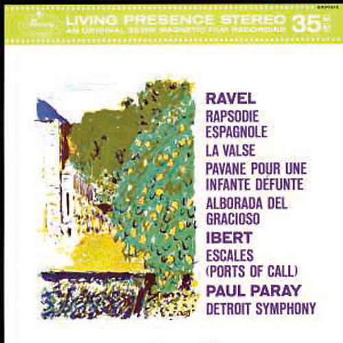Alliance Orchestral Music By Maurice Ravel & Jacques Ibert