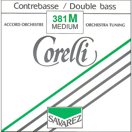 Corelli Orchestral Nickel Series Double Bass G String