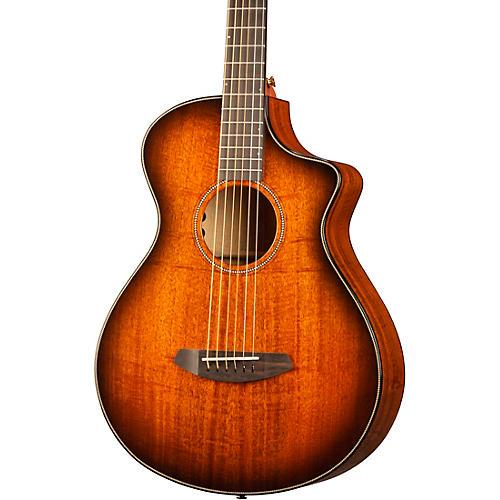 Breedlove Oregon Concertina CE Myrtlewood Acoustic-Electric Guitar Bourbon Burst