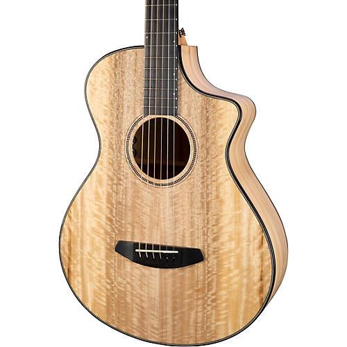 Breedlove Oregon Concertina CE Myrtlewood-Myrtlewood Acoustic-Electric Guitar Natural