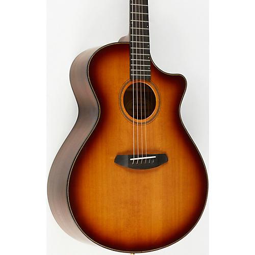 Breedlove Oregon Concerto CE Myrtlewood Acoustic-Electric Guitar Whiskey Burst