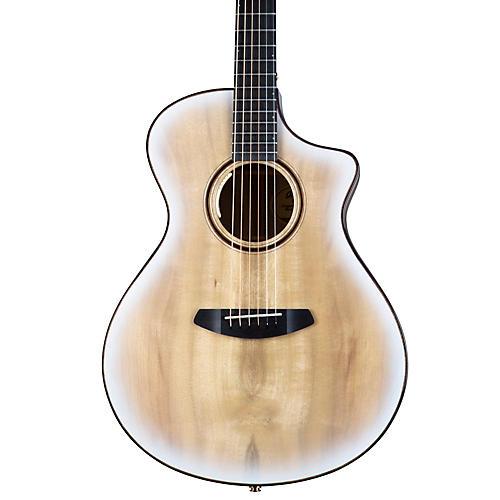 Breedlove Oregon Limited Myrtlewood-Myrtlewood Concert CE Acoustic-Electric Guitar Blue Eyes