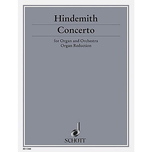Schott Organ Concerto Arr For Solo Organ Schott Series