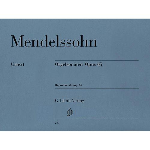 G. Henle Verlag Organ Sonatas Op. 65 Henle Music Folios Series Softcover