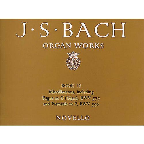 Novello Organ Works - Book 12 Music Sales America Series