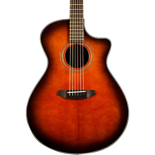 Breedlove Organic Collection Performer Concerto Cutaway CE Acoustic-Electric Guitar Bourbon Burst