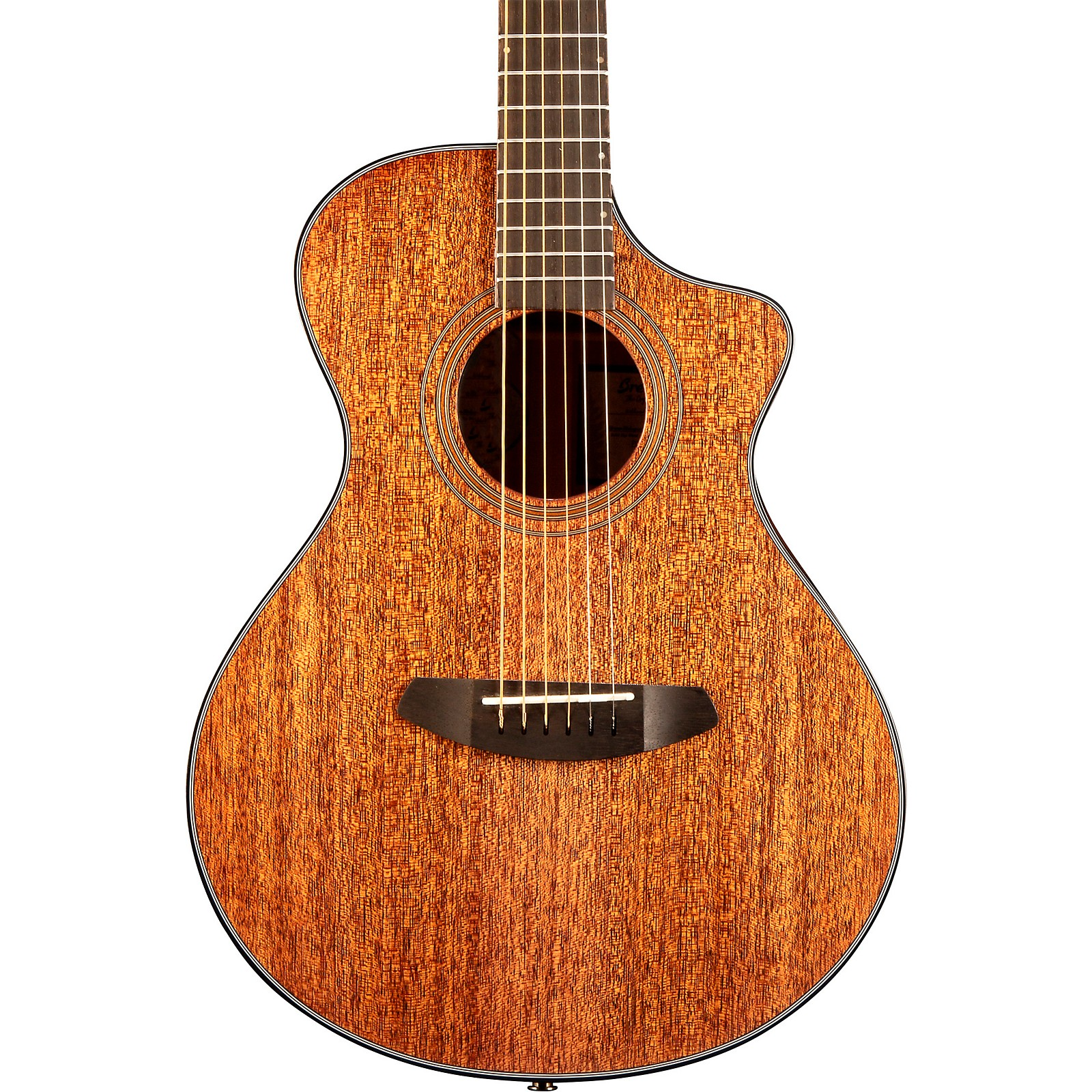 Breedlove Organic Collection Wildwood Companion Cutaway CE Acoustic-Electric Guitar