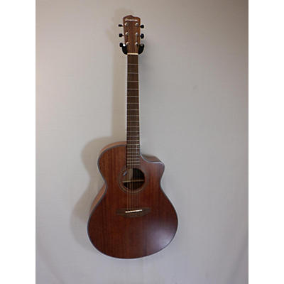 Breedlove Organic Wildwood Concerto Satin Ce Acoustic Electric Guitar