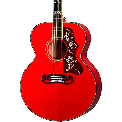 Gibson Orianthi SJ-200 Acoustic-Electric Guitar Cherry Cherry