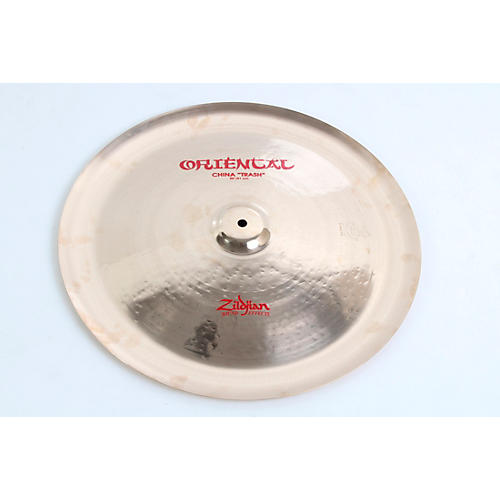 Zildjian Oriental China 'Trash' Cymbal Condition 3 - Scratch and Dent 20 Inches 194744176456
