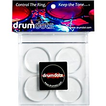 drumdots Original Drum Dampeners, 4-Pack