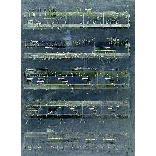 G. Henle Verlag Original Music Engraving Plate Henle Critical Report Series General Merchandise