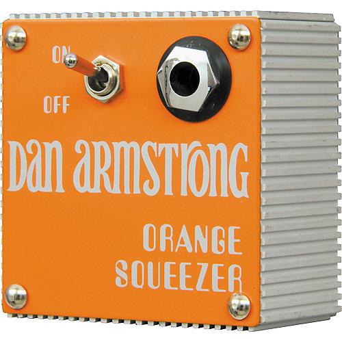 Dan Armstrong Original Orange Squeezer Compressor Guitar Effects Module