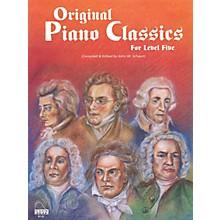 SCHAUM Original Piano Classics Educational Piano Series Softcover