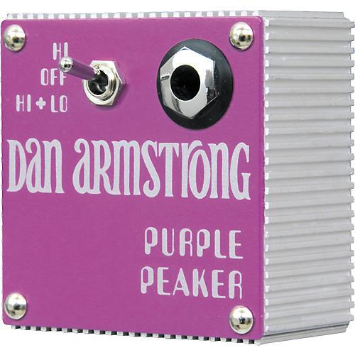 Dan Armstrong Original Purple Peaker Equalizer Guitar Effects Module