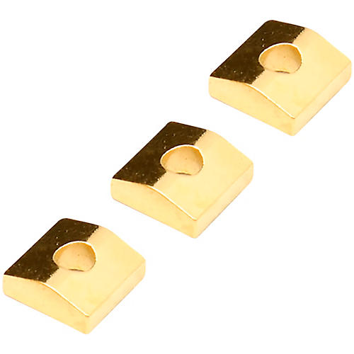 Floyd Rose Original Series Nut Clamping Blocks (3) Gold