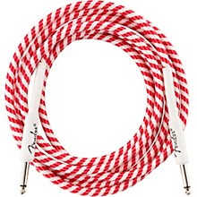 Fender Original Series Straight to Straight Limited-Edition Candy Cane Cable