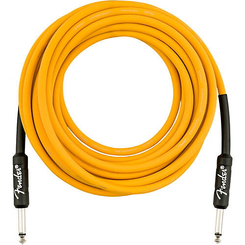 Fender Original Series Straight to Straight Limited-Edition Instrument Cable 18.6 ft. Butterscotch Blonde