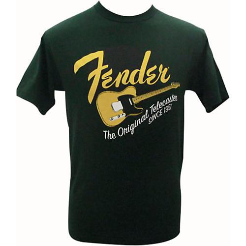 Fender Original Tele T-Shirt Green XXL