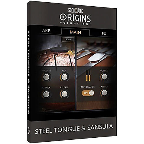 Best Service Origins Series Vol. 1 Steel Tongue & Sansula