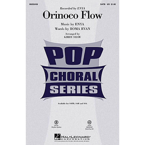 Hal Leonard Orinoco Flow ShowTrax CD by Enya Arranged by Kirby Shaw