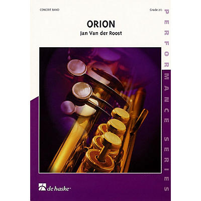 De Haske Music Orion (Score Only, Grade 2.5) Concert Band Level 2.5