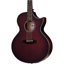 Orleans Stage Acoustic-Electric Guitar Vampyre Red Burst