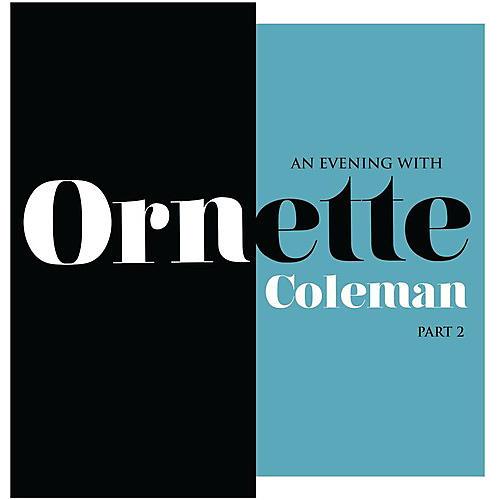 Alliance Ornette Coleman - An Evening With Ornette Coleman Part 2